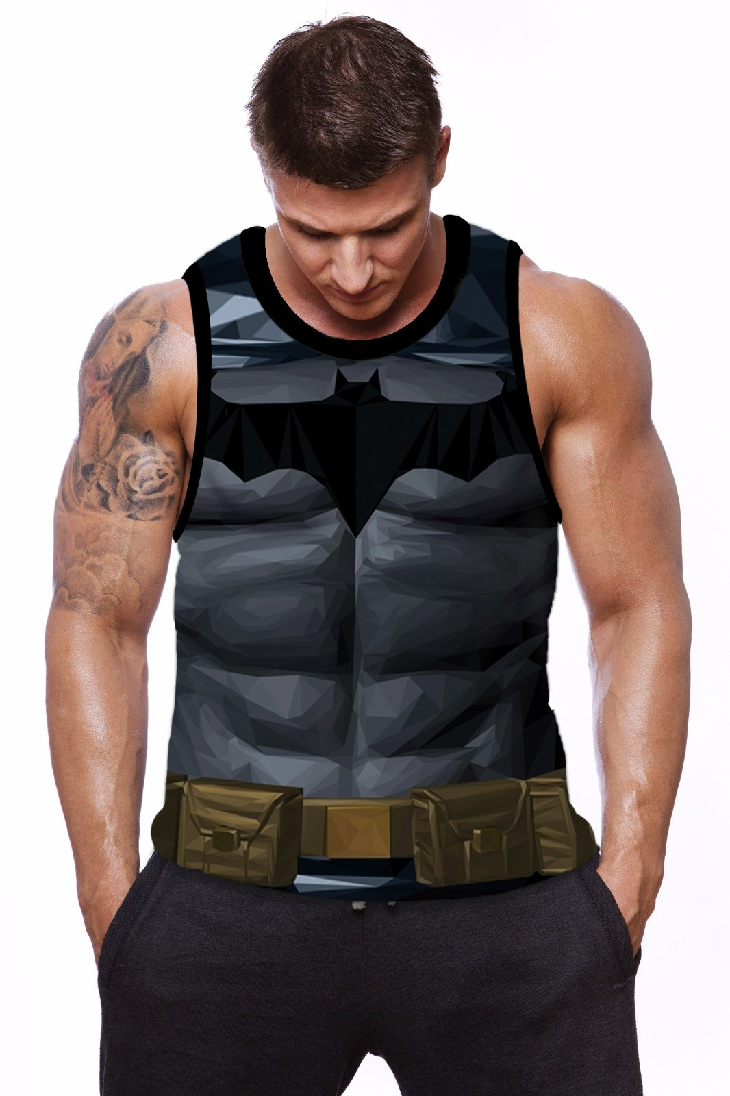 Regata Tradicional Uniforme Batman