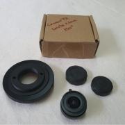 Anel T2 (CANON OU NIKON) + Lente 2.1mm 150º De Campo All Sky