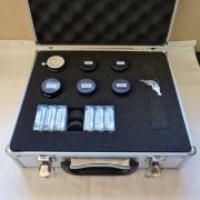 Maleta de Acessórios 13 peças - Oculares, Filtros e Barlow - CELESTRON