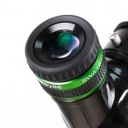 """Ocular 16mm - 1,25"""" Acromática Green Glass - 6 Elementos - 70º de Campo - ANGELEYES"""