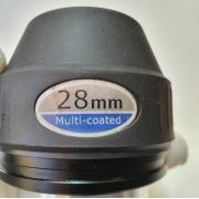 """Ocular 28mm 2"""" - Construção Kelner CX - Modelo APEX - SKYWATCHER"""