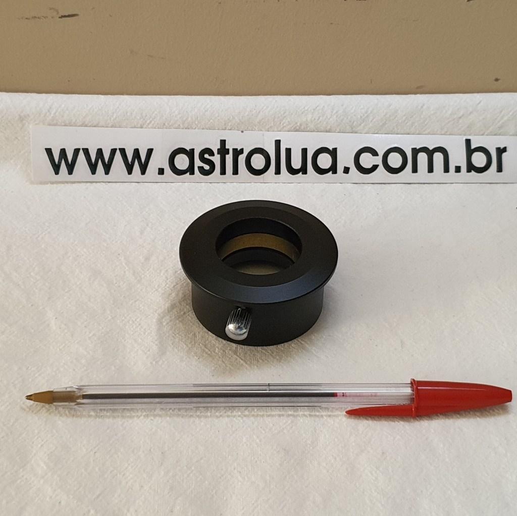 "Adaptador Chato de 2"" para 1,25"" - Alumínio + Anel de Cobre - WILLIAM OPTICS"
