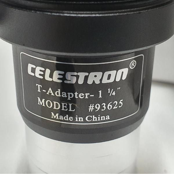 "Adaptador T - 1,25"" - T-ADAPTER #93625 - CELESTRON"