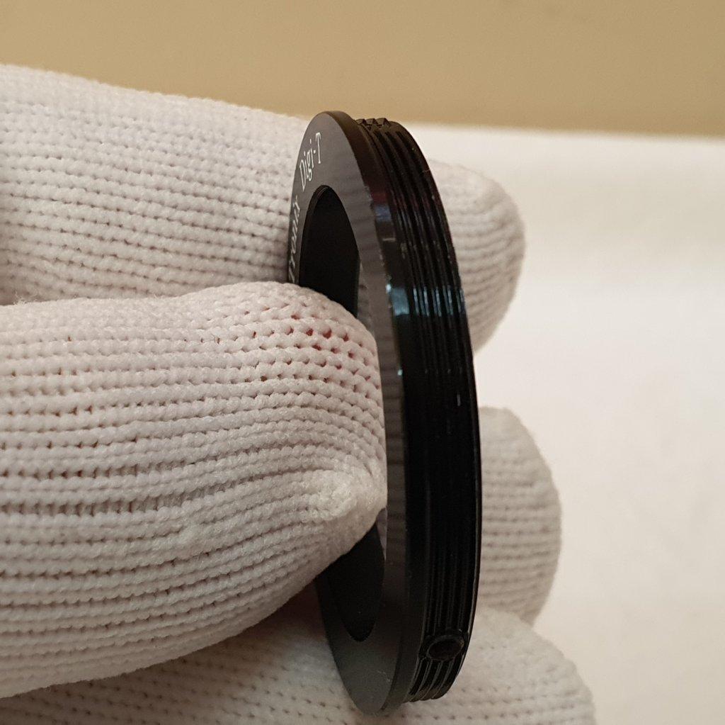 """Anel Digi-T com Rosca M42 e encaixe de oculares 1,25"""" ajustável - SCOPETRONIX"""