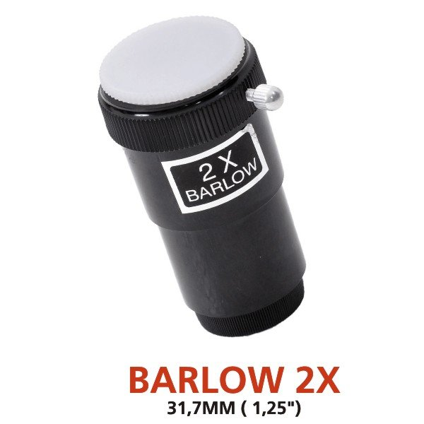"Barlow 2x - 1,25"" plastic tube - GENÉRICA"
