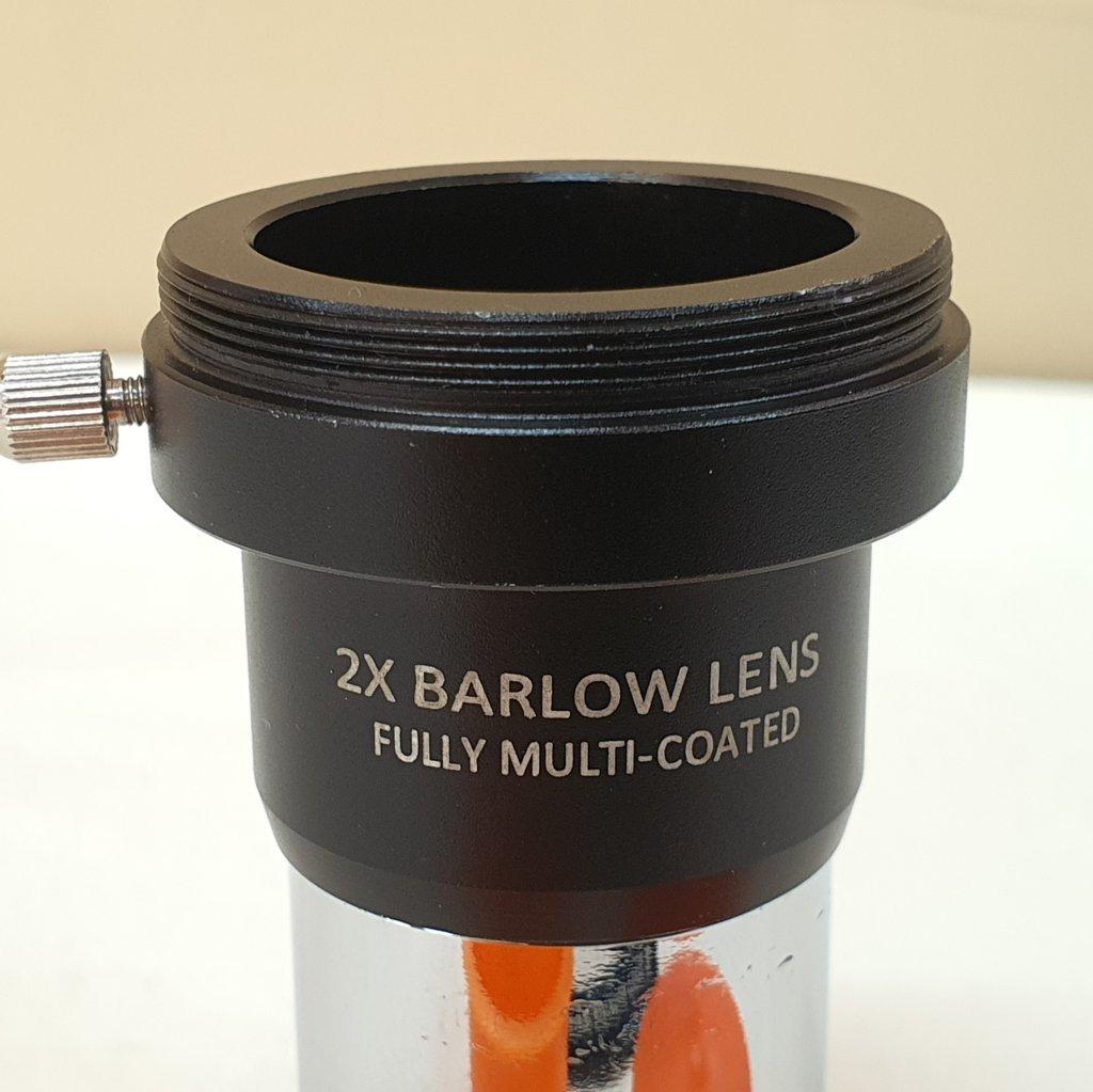 "Barlow 2x - 1,25"" - Rosca T (m42) - FMC - ASTROLUA"