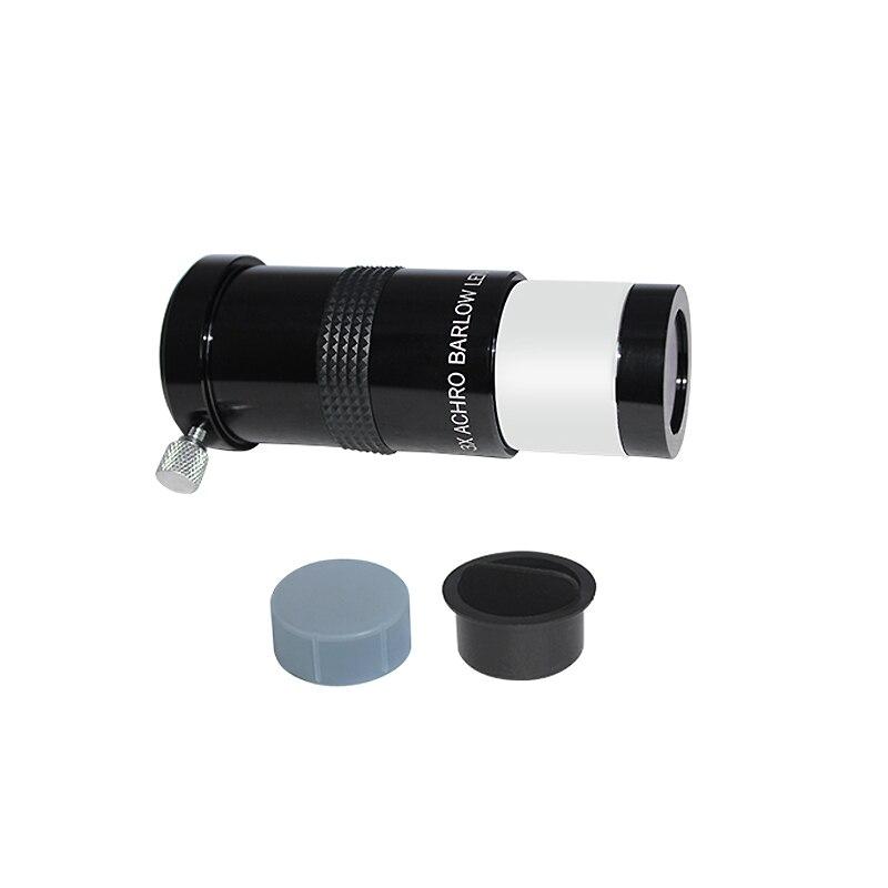 "Barlow 3x - 1,25"" - Achro Lens Multi Coated - Long Tube - Série Black - SVBONY"