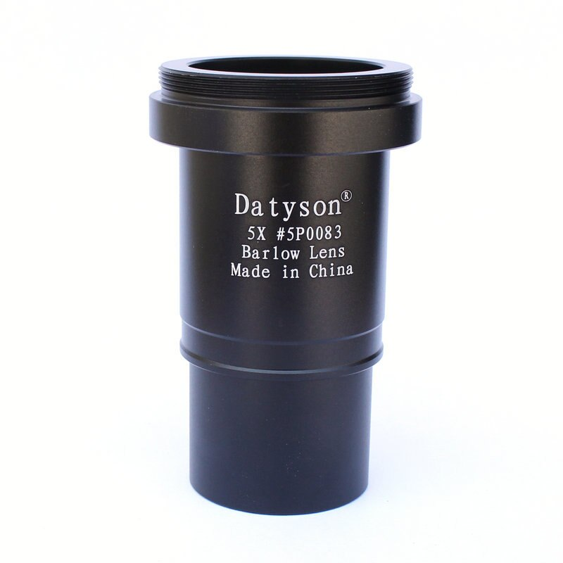 """Barlow 5x - 1,25"""" - Acromática - Rosca T (M42) DATYSON"""