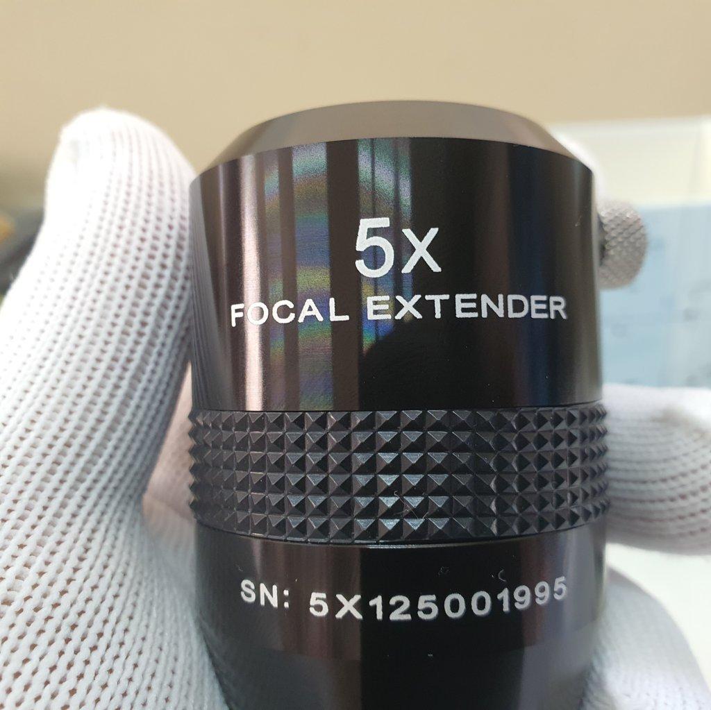 "Barlow 5x 1,25"" - Focal Extender EXPLORE SCIENTIFIC"