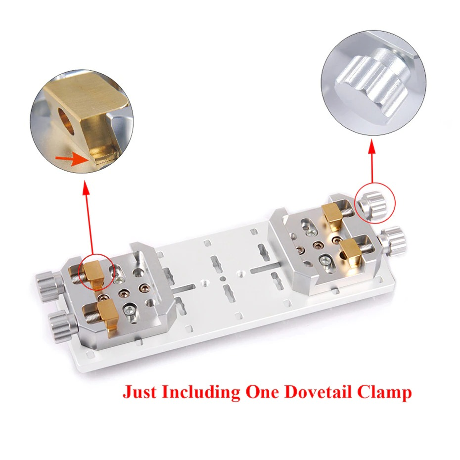 Berço p/ Dovetail Vixen para Tripés e Montagens - Fixação de OTAs e Câmeras