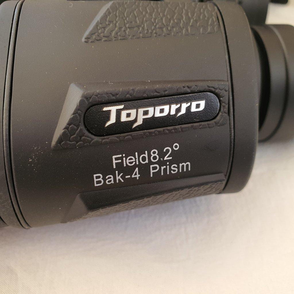 Binóculos 20x50 - BaK-4 - Prisma Porro - TOPORRO