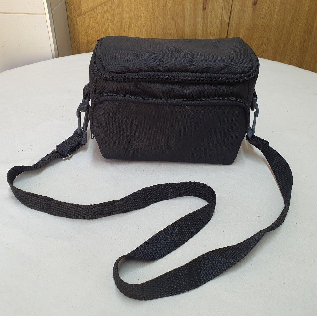 Bolsa Compacta Para Cameras, Lentes, Oculares E Acessórios (20x14x12cm)