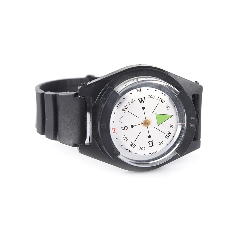 Bussola De Pulso - Estilo Relógio - Leve E Eficaz - Outdoor, Localização, Orientação, Astronomia