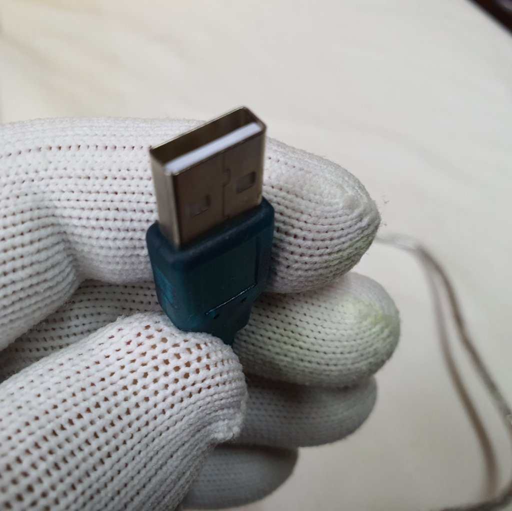 Cabo Adaptador USB x DB9 Macho Serial - 80cm - ASTROLUA
