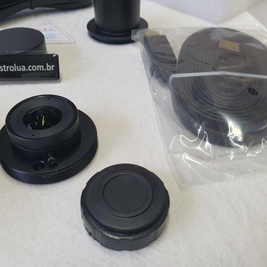 Câmera ASI 290MC - USB3 - PORTA ST4 - Lente All Sky 150º - Astrofotografias E Guiagens ZWO