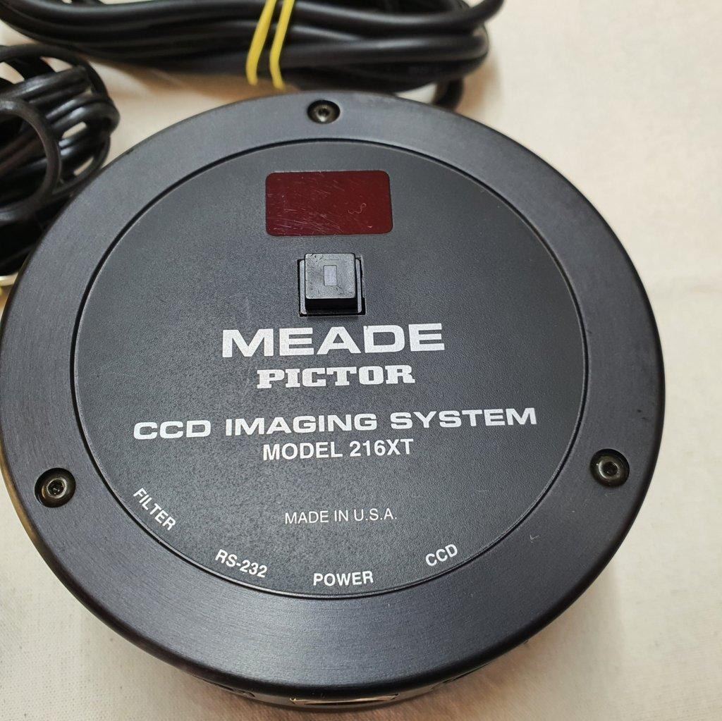 Câmera CCD E AutoGuider Pictor - Modelo 216XT Americano - MEADE