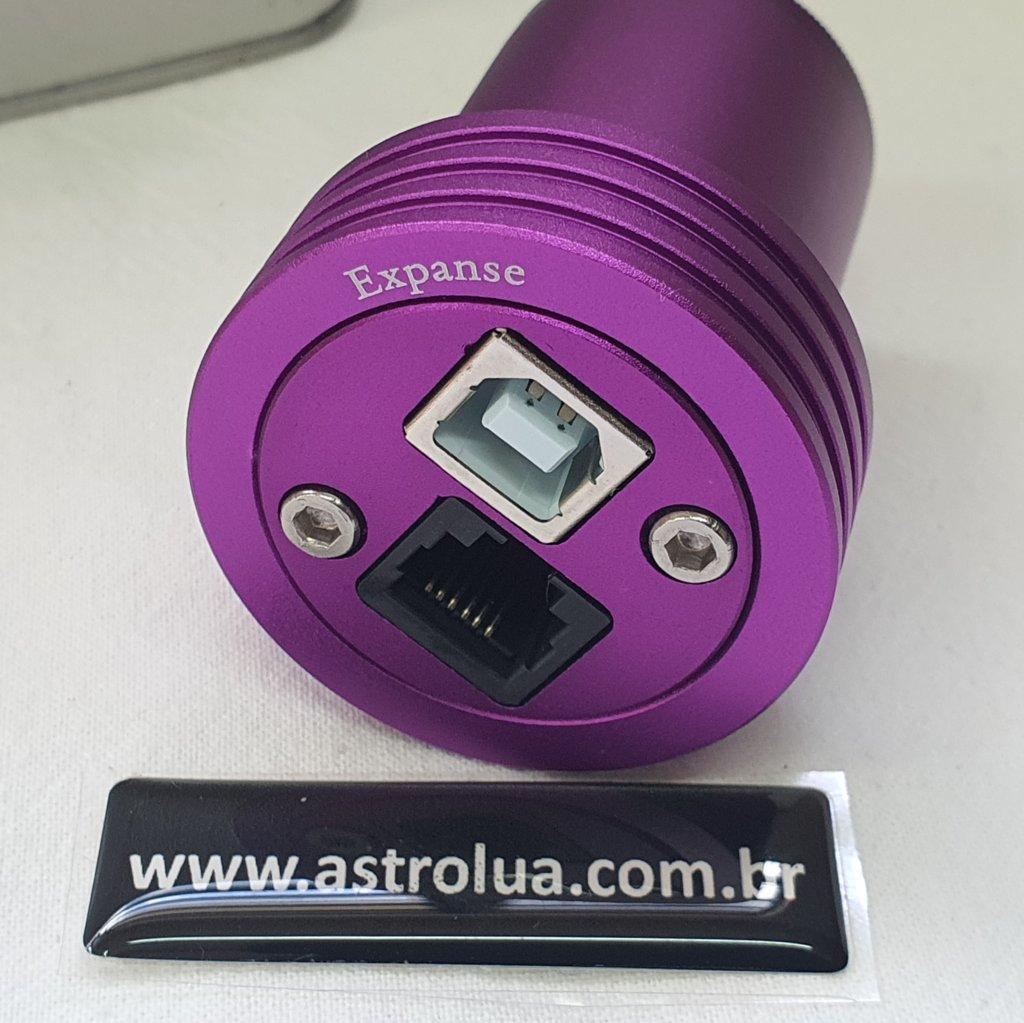 Câmera CMOS USB - Color Astronomy ST4 - 120C - EXPANSE