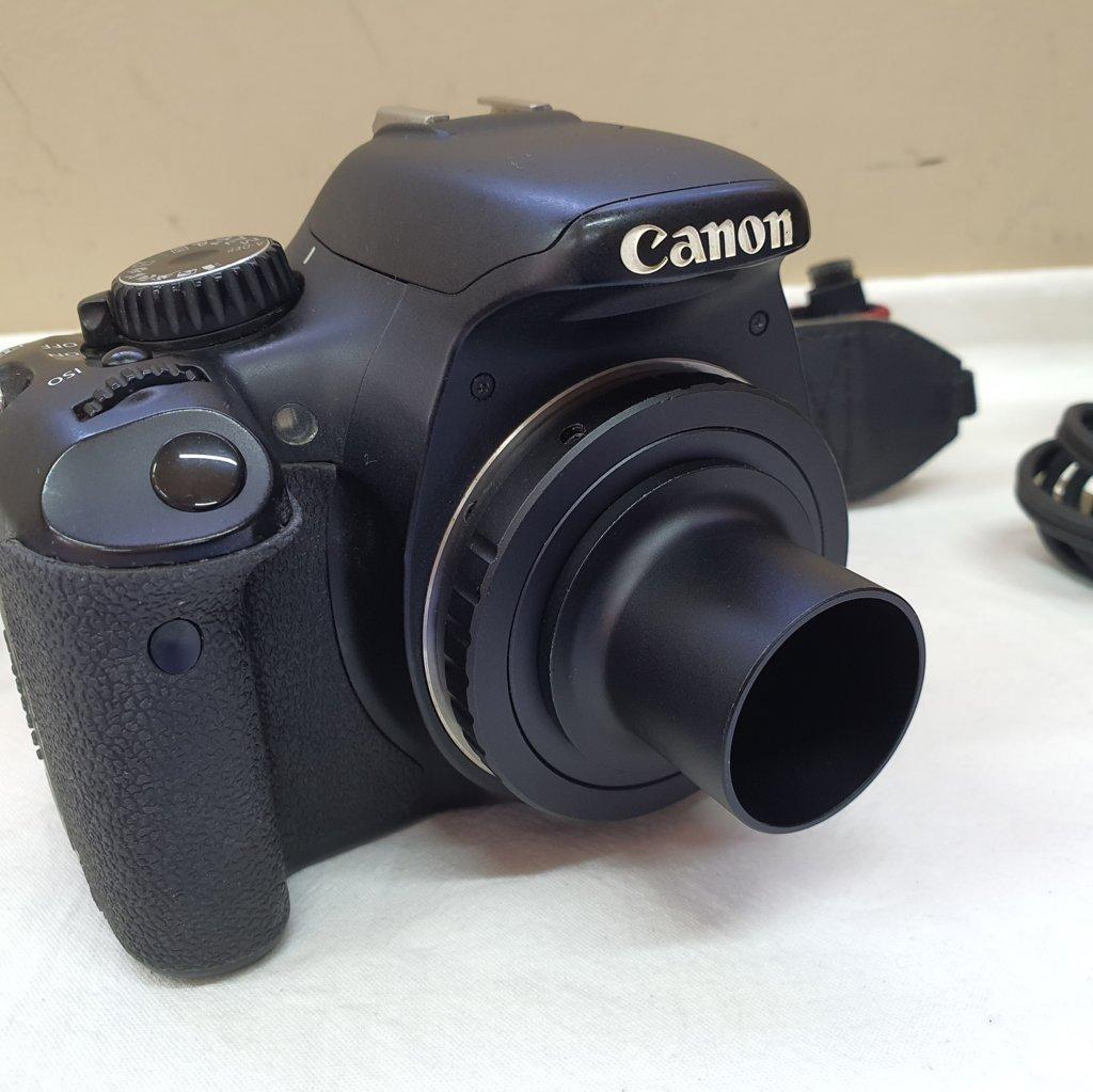 Câmera DSLR - T2i  EOS - Modificada para Astrofotografia - Cartão 16Gb - CANON