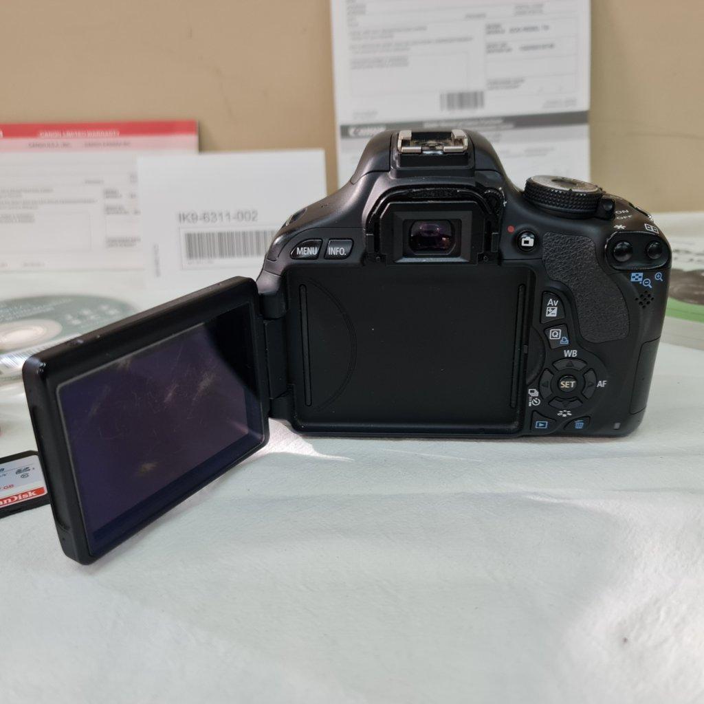 Câmera T3i EOS Rebel - Modificada para Astrofotografia - CANON