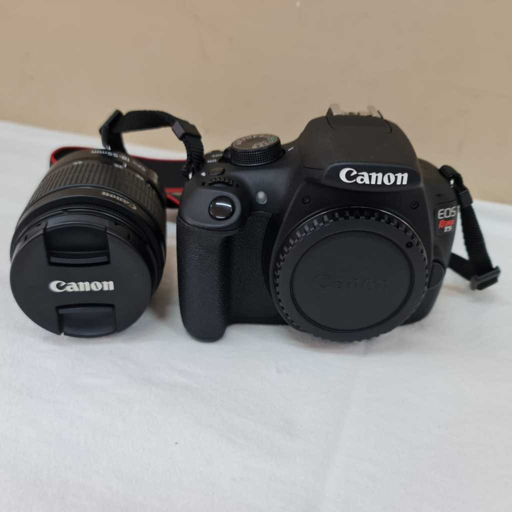 Câmera T5 EOS - REBEL - Lente 18-55mm  CANON