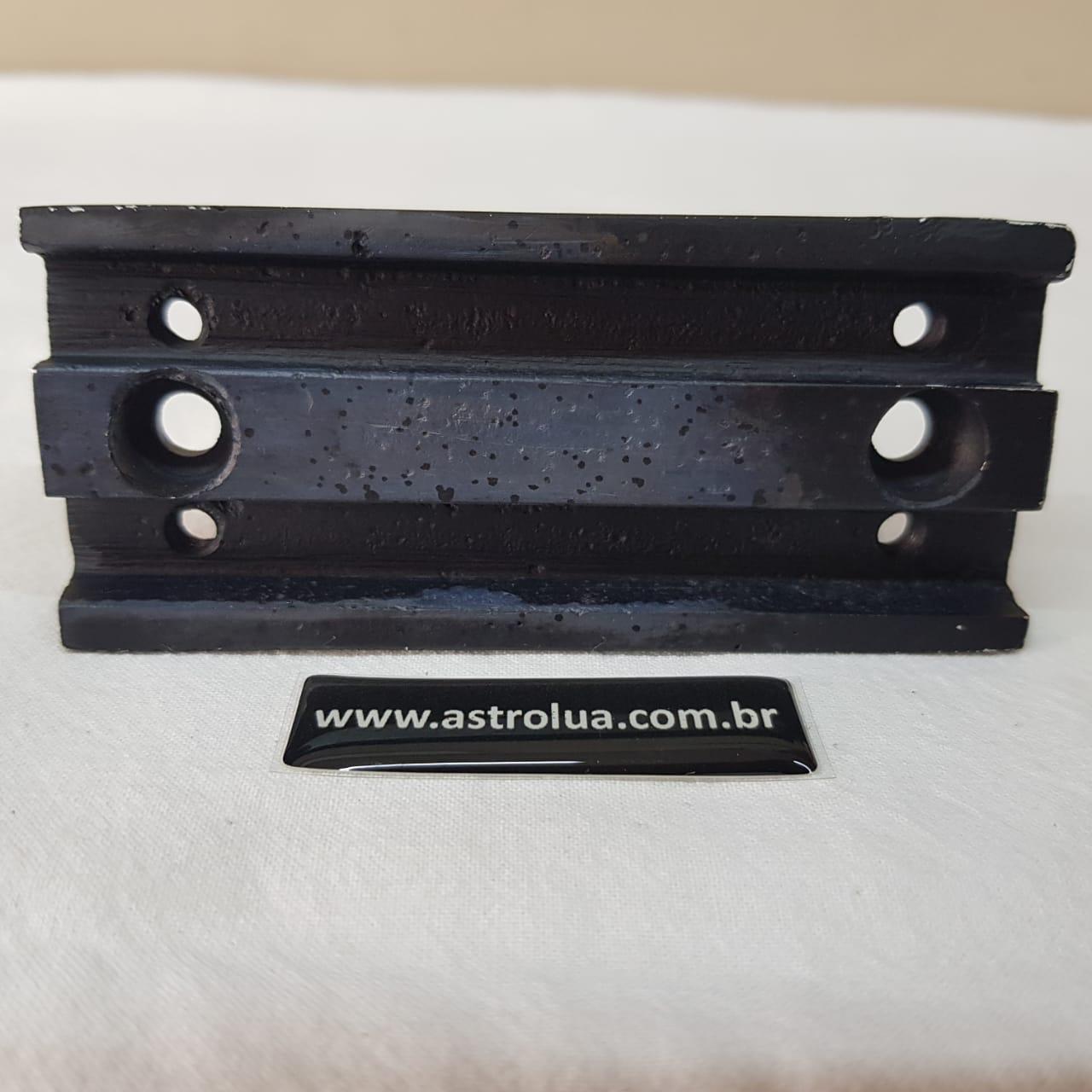 Dovetail Alumínio Fundido 100mm - Vixen  (95g) ASTROLUA
