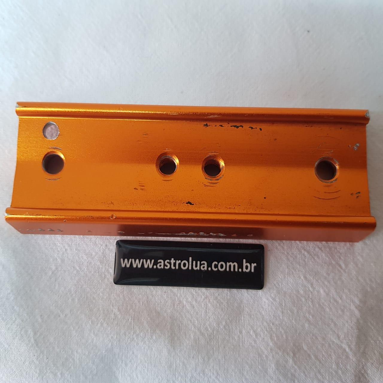 Dovetail Vixen- 109mm + Rosca 1/4 - Laranja - CELESTRON