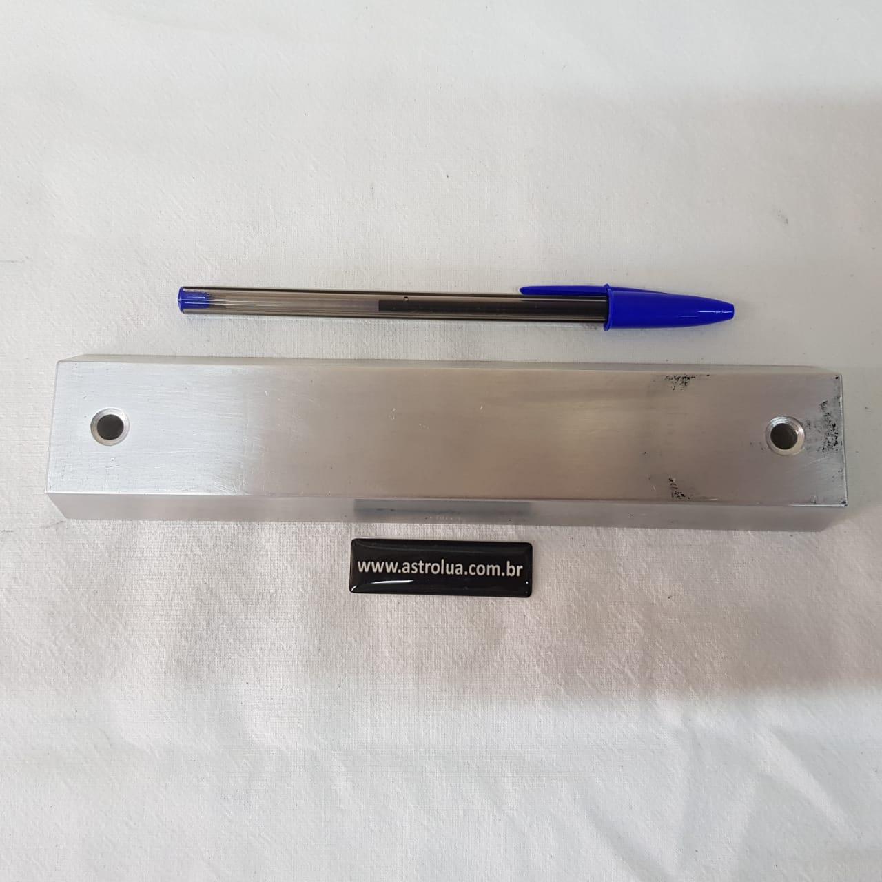 Dovetail Vixen - Alumínio Escovado 200mm - 330g - ASTROLUA