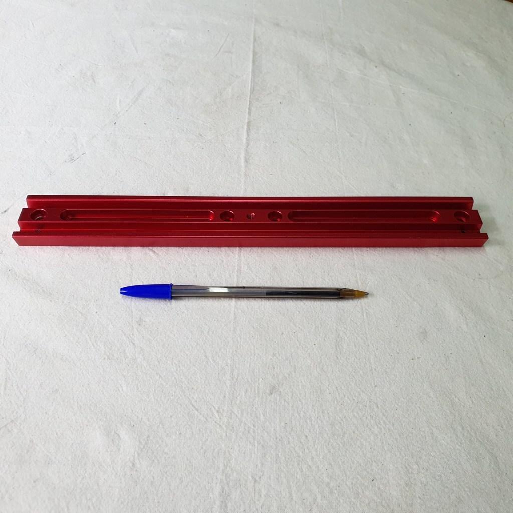 Dovetail Vixen - Barra 33.5cm - 100% Alumínio - WILLIAN OPTICS