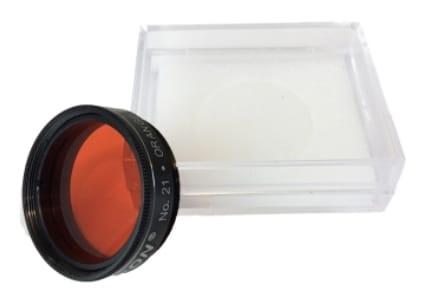 """Filtro 1,25"""" - Color PLanetary - Orange #21 - CELESTRON"""