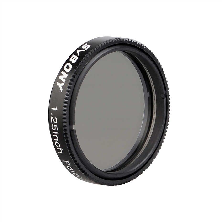 """Filtro 1,25"""" - Polarizador Linear Redução de brilho aumento de contraste - SVBONY"""
