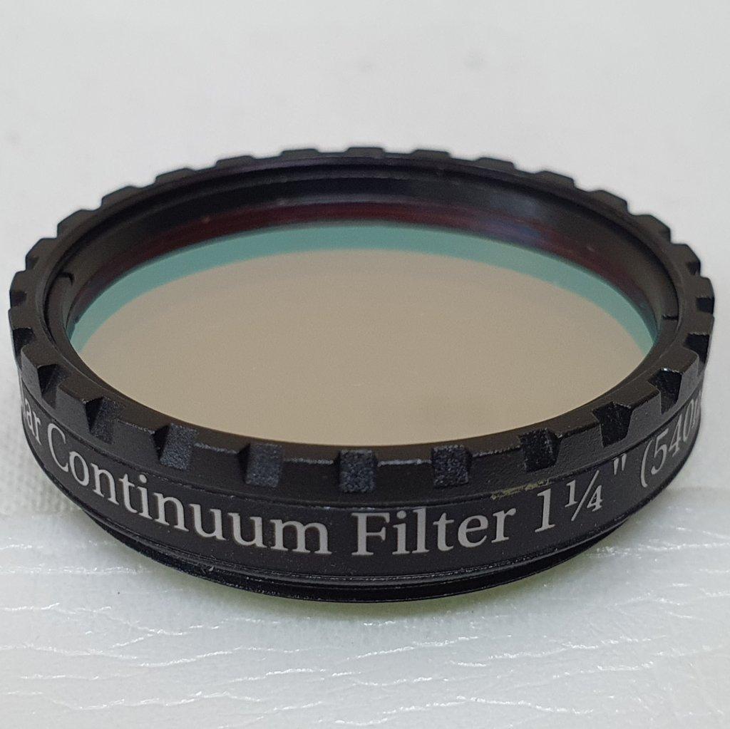 "Filtro 1,25"" - Solar Cotinuum CWL 540nm - BAADER"