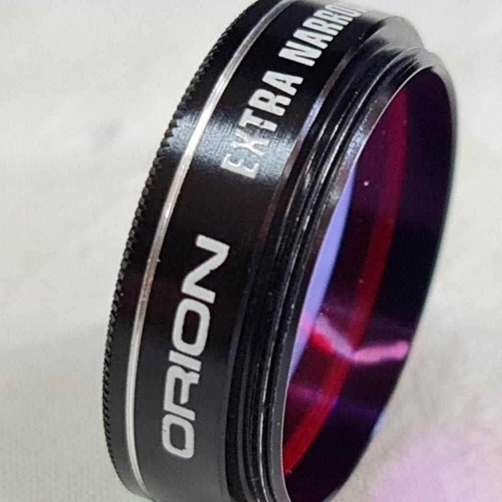 """Filtro de banda estreita H-Alpha de 1,25 """" - ORION"""
