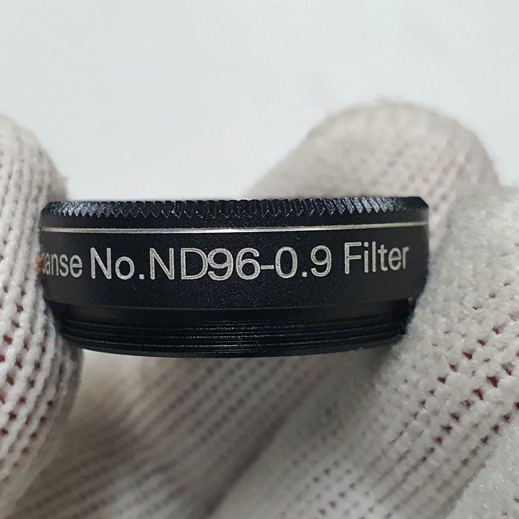 """Filtro Densidade Neutra - 1,25"""" - ND96-0.9  Banda Média - EXPANSE ou CELESTRON"""