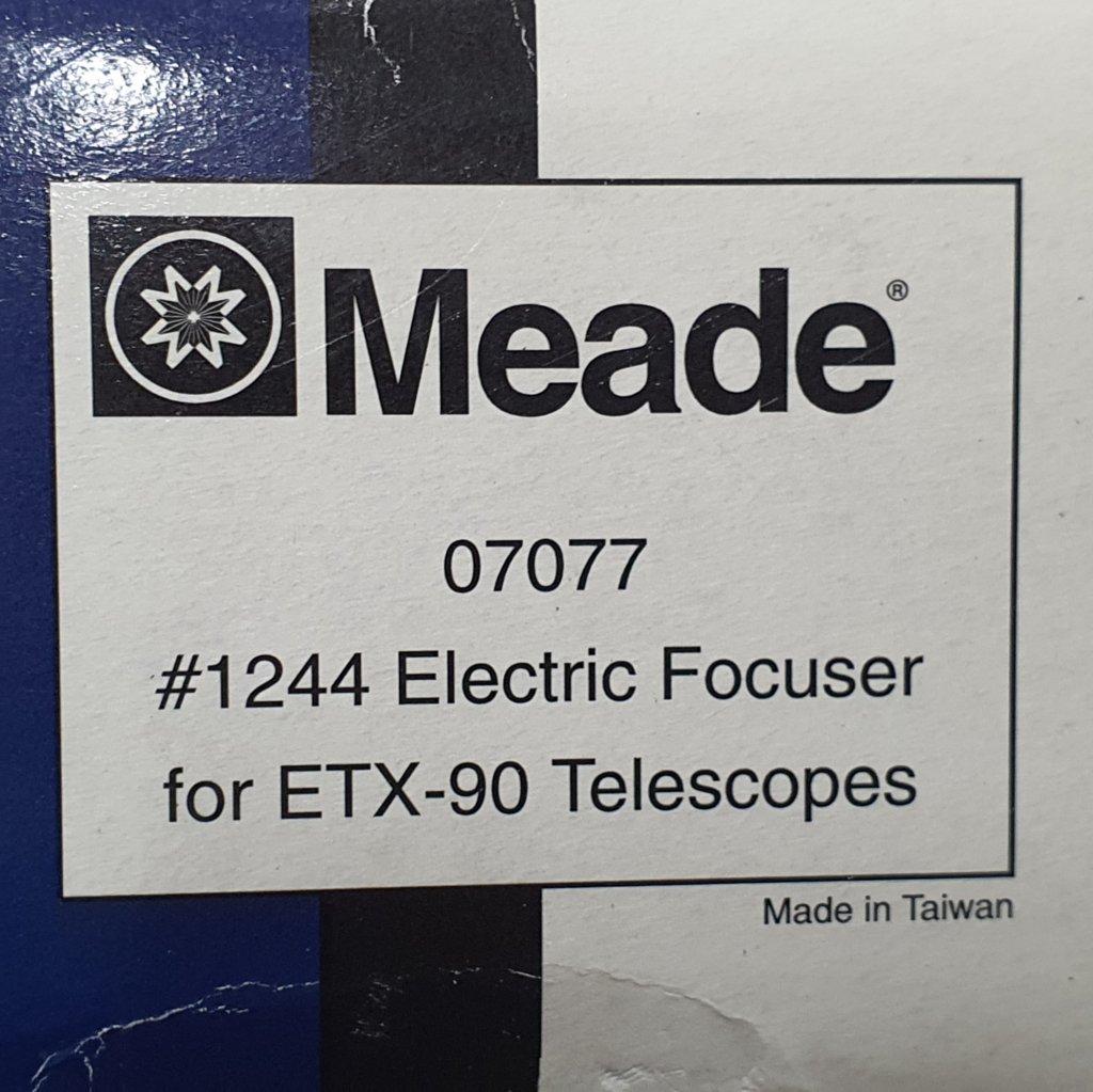 Focalizador Eletrônico para ETX90 e ETX105 - #1244 - MEADE