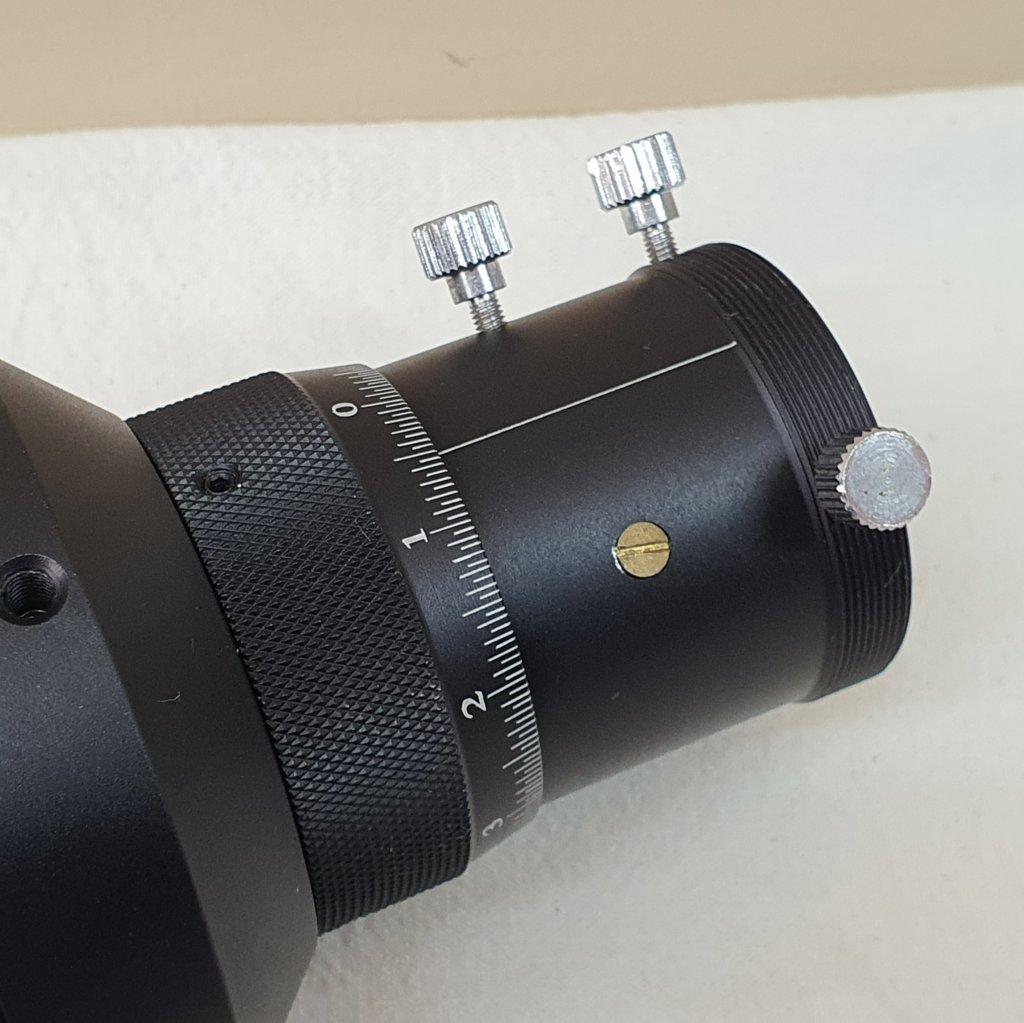 Guidescope 60mm - Dubleto Acromático f/4.0 - Helicoidal - VISIONKING
