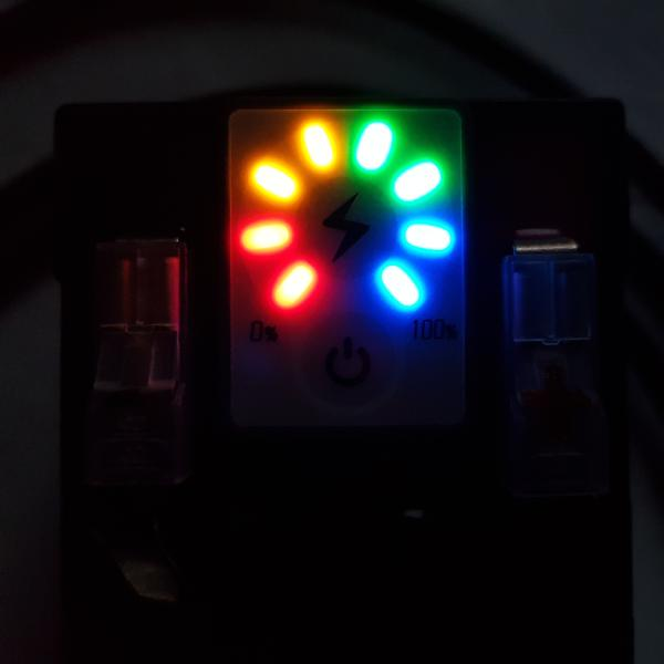 Kit Bateria Para Montagens Eletrônicas - Com Carregador Bivolt - Indicador de Carga