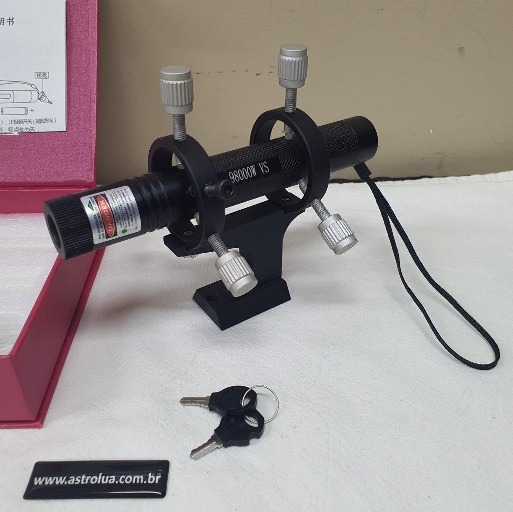 Kit Super Laser com Suporte de Alumínio - HELIUS - ASTROLUA