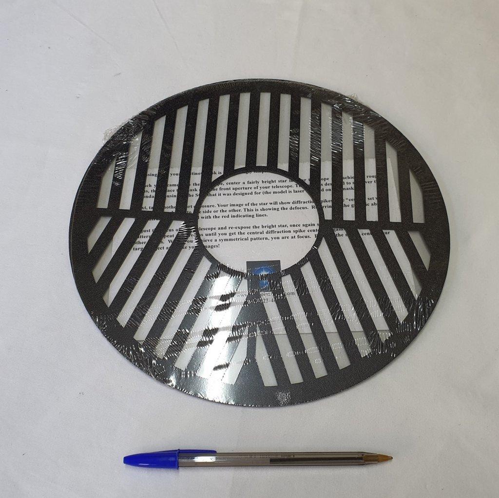 """Máscara Bahtinov Para Cassegrains 10"""" (254mm) - FAIRPOINT  (EUA)"""