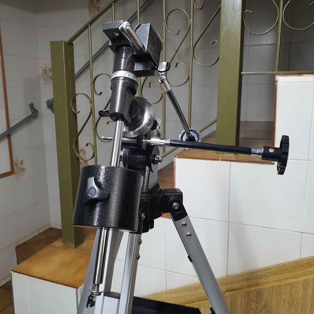 Montagem Equatorial Germanica Primeira Geração - EQ-1 - SKYWATCHER