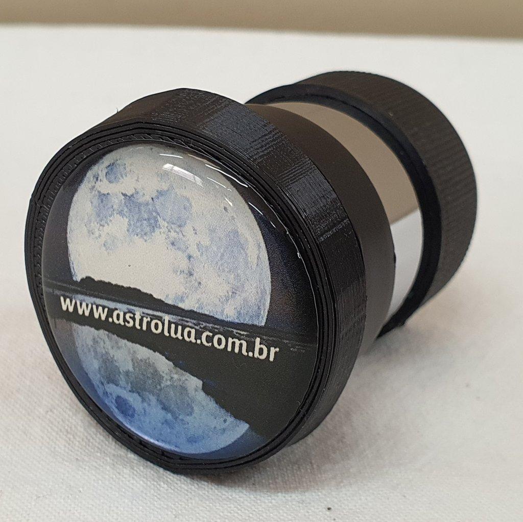 "Ocular 12mm - 1,25"" - Padrão Japonês - KELLNER"