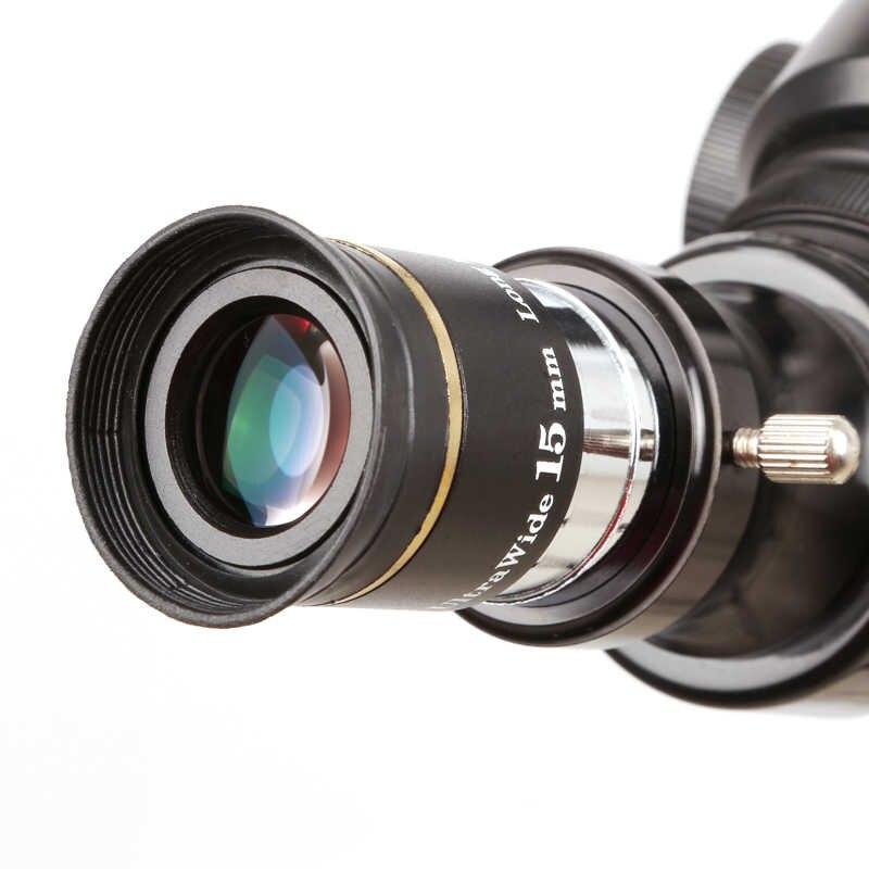 "Ocular 15mm 1,25"" - 66º Ultra Wide - Ring Gold - SVBONY"