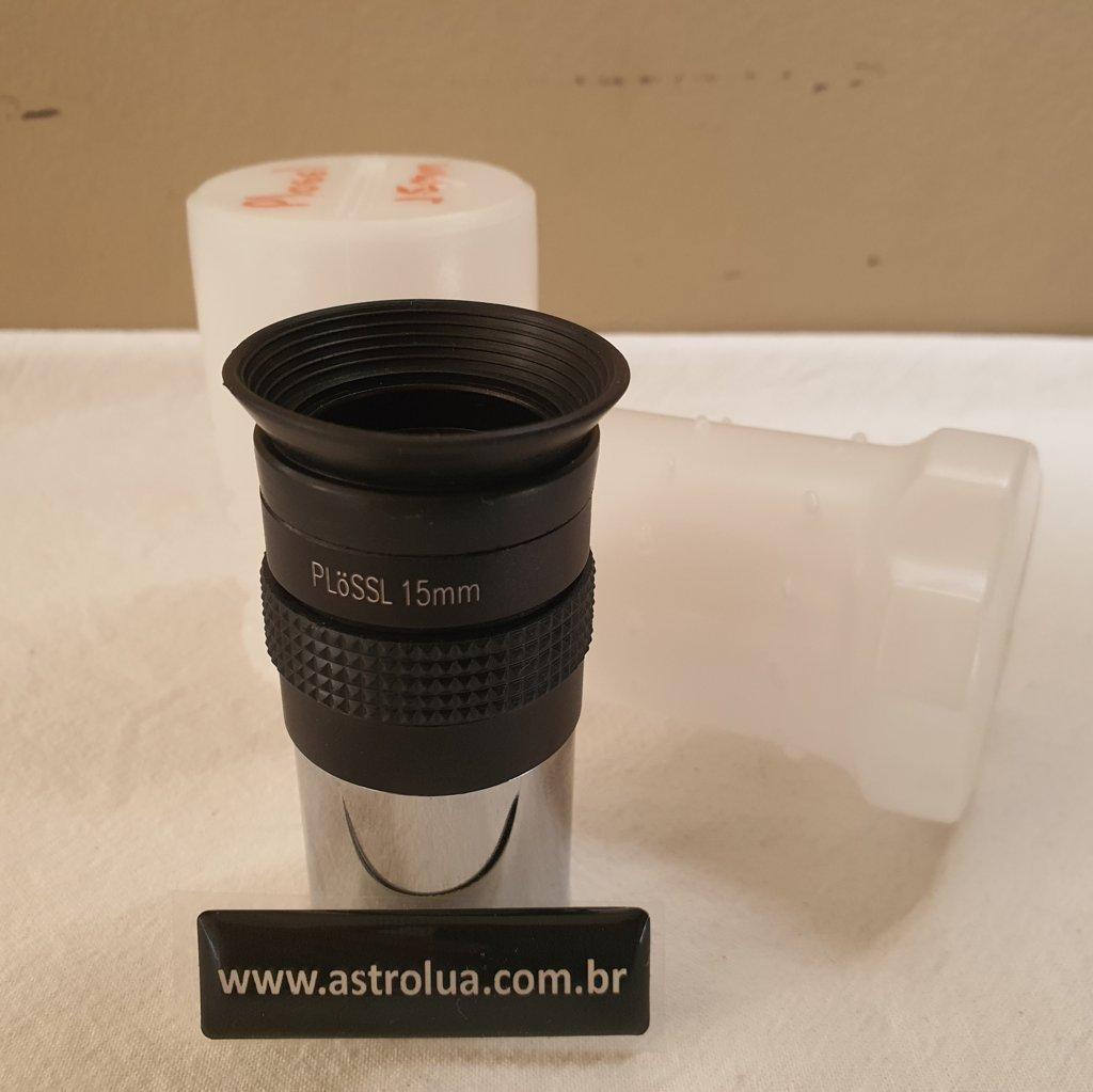 "Ocular 15mm - 1,25"" - Super Plossl 52º - TPO"