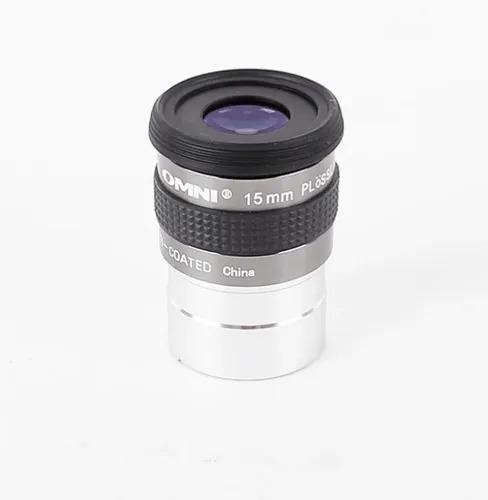"Ocular 15mm - 1,25"" - Super Plossl FMC - Linha Omni - CELESTRON"