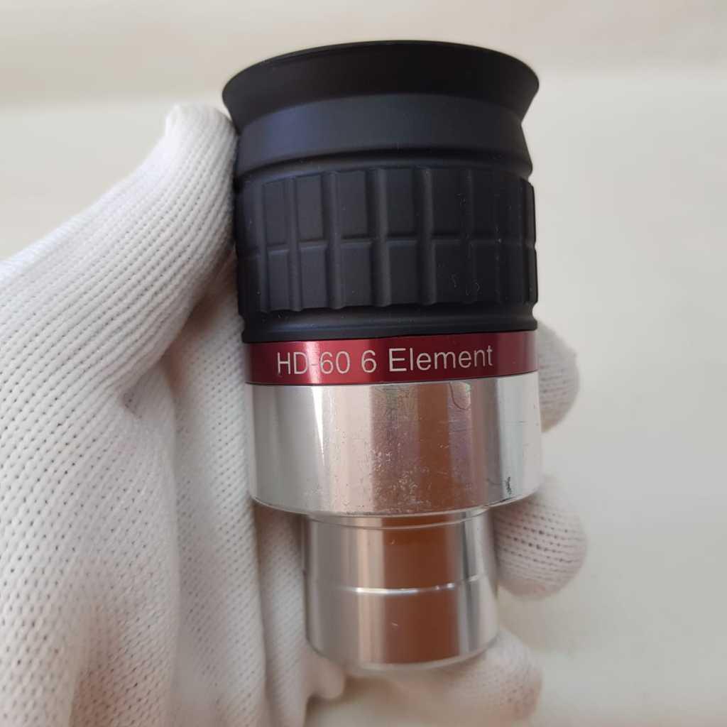 """Ocular 18mm 1,25"""" HD60º  6 Elementos - MEADE"""