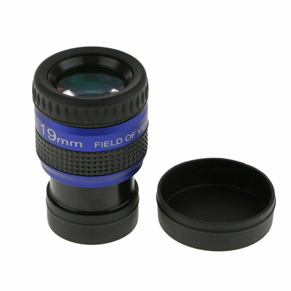 """Ocular 19mm - 1,25""""  EF 70 Graus AFOV - Cristal Glass - ANGELEYES"""