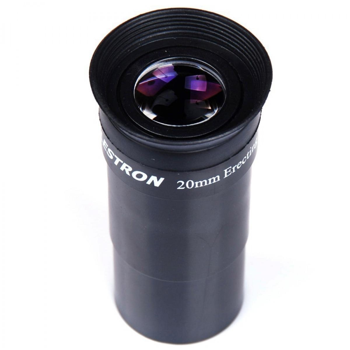 """Ocular 20mm - 1,25"""" Eretora - Prisma de Correção da Imagem - CELESTRON"""
