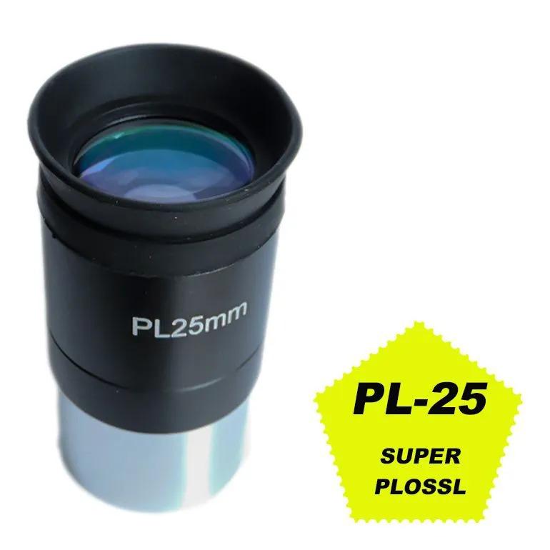 """Ocular 25mm 1,25"""" - 52º Super Plossl - PL"""