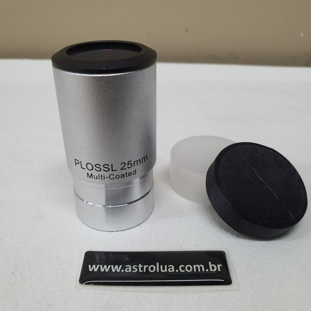 "Ocular 25mm - 1,25"" - 53º de Campo - Modelo EP25PL - Silver - SKY-WATCHER"