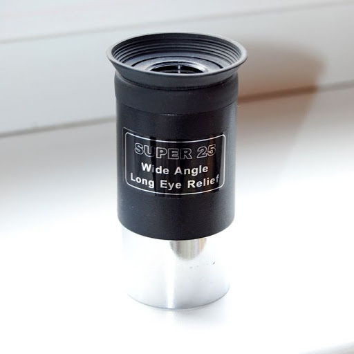 "Ocular 25mm 1,25"" - Modelo Super 25 - Wide Angle - SKY-WATCHER"