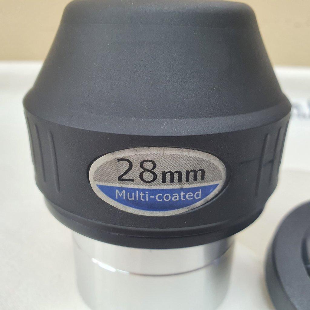 """Ocular 28mm 2"""" - Construção Kelner - Modelo APEX - SKYWATCHER"""